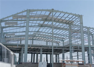 Prefab Structural Steel Workshop Buildings Easy To Assemble Labor Saving