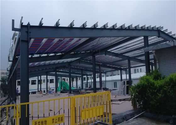 50mm Extension Metal Workshop Buildings For Exhibition Hall