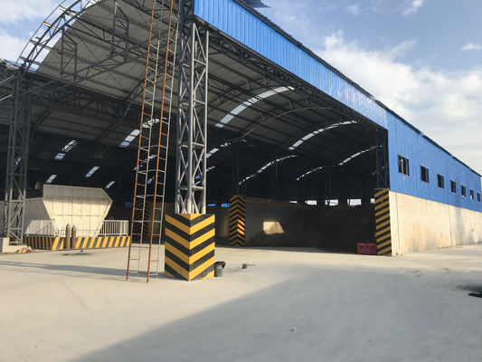 400 Tons Prefabricated Steel Structures For Tool Storage