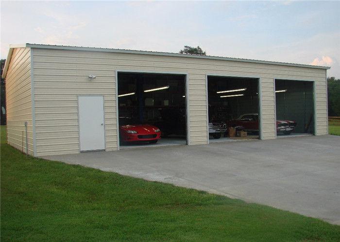 Durable Prefab Steel Garage Buildings, Prefabricated Garage Panels